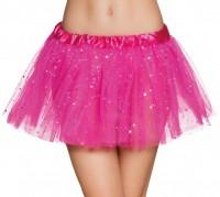 Magisches Glitzer Tutu Pink Für Damen