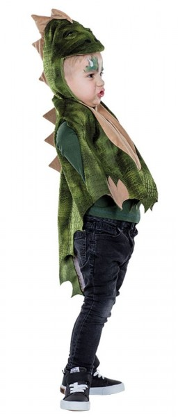 Sweet dinosaur cape for children