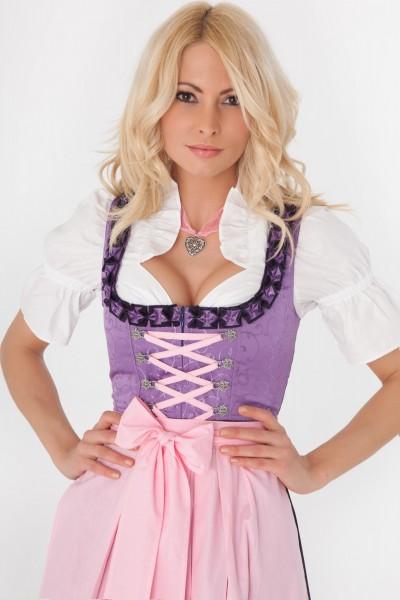 Katharina Maxi Dirndl rosa-violett