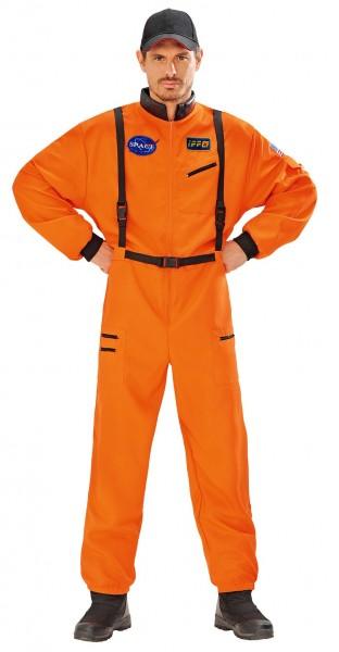 Astronaut Micail Herrenkostüm Orange