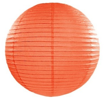 Lampion Lilly orange 25cm