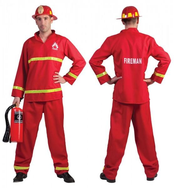 Feuerwehrmann Enriko Kostüm | Party.de