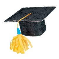 Abschlussfeier Absolventenhut Pinata