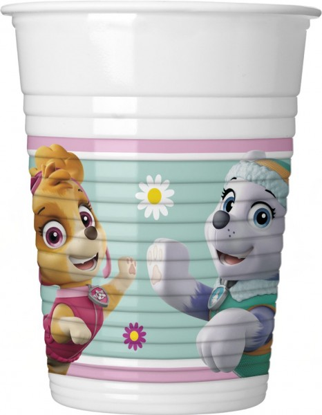 8 Life of Paw Patrol Becher 200ml