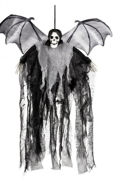 Decorazione da appendere a scheletro angelo morte 60 cm