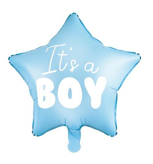 Baby Prince Star Balloon 48cm