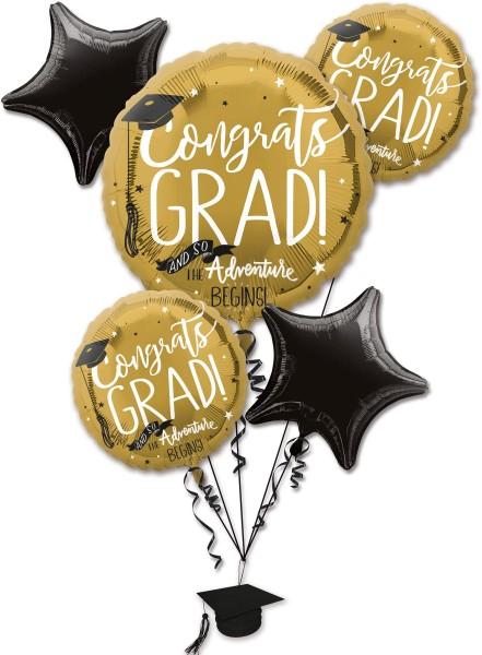 Ballon de graduation set 5 pièces
