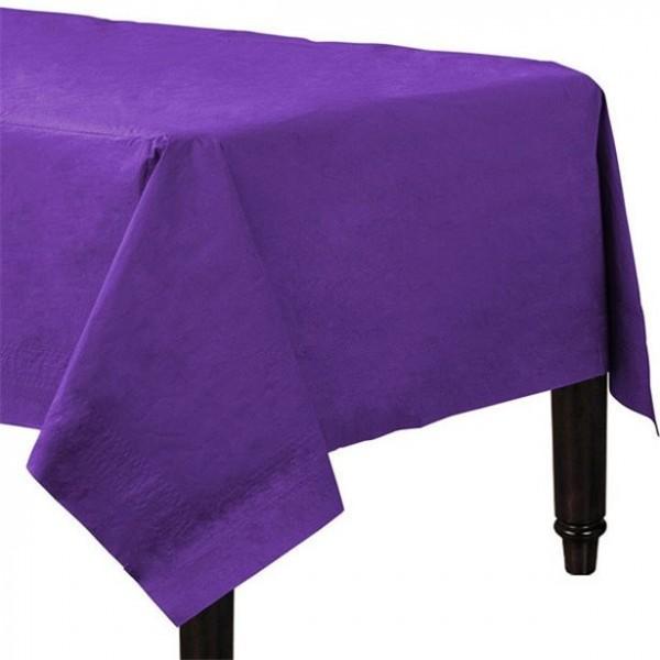 Papiertischdecke Violett 90 x 90cm