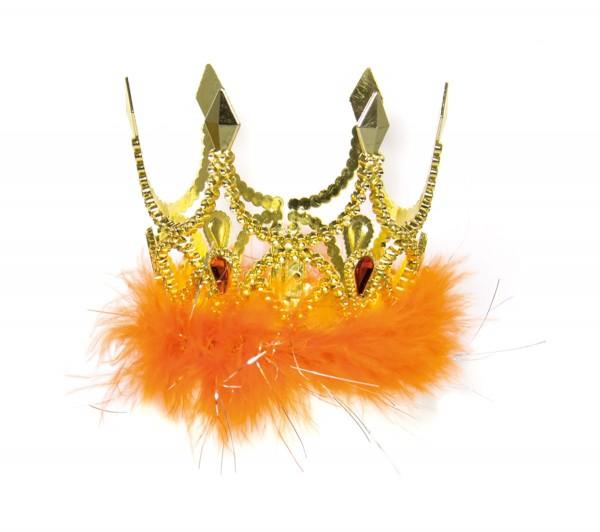 Orangene Prinzessinnen Krone Marina