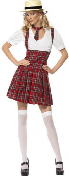 Freches Schulmädchen-Outfit