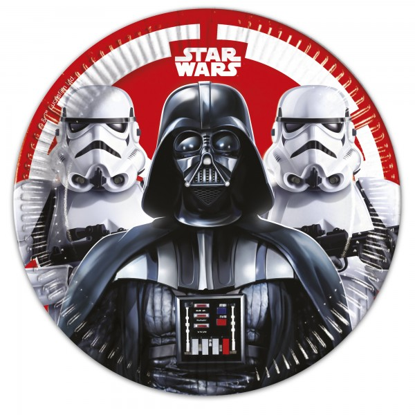 8 Star Wars Final Battle Pappteller 23cm