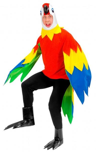 Pierre Papagei Kostüm Für Erwachsene
