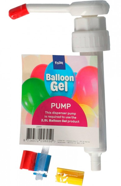 Ballon Gel Spenderpumpe