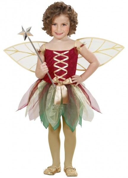Little forest fairy child costume