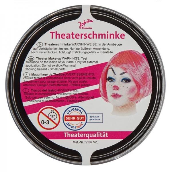 Profi Theaterschminke Schwarz