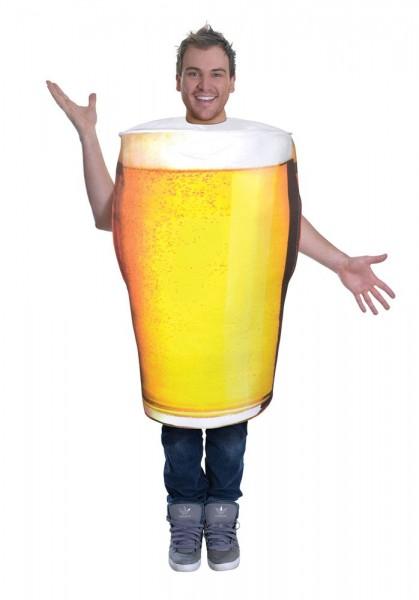 Bierglas Kostüm für Erwachsene