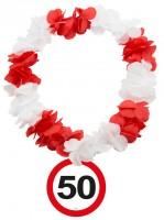 Verkehrsschild 50 Hawaiikette