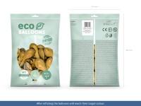 100 Eco metallic Ballons gold 30cm