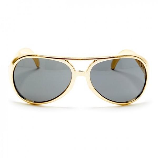 Goldene Elvis Sonnenbrille