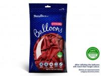 Vorschau: 10 Partystar Luftballons rot 27cm