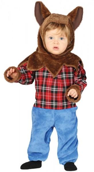 Niedliches Werwolf Babykostüm