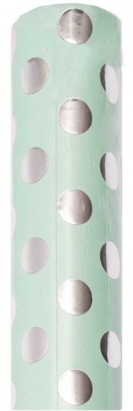 FSC Lovely Dots wrapping paper turquoise
