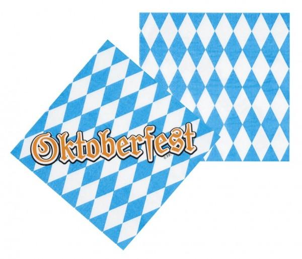 12 serviettes de table Oktoberfest