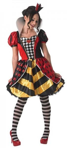Herzkönigin Im Wunderland Kostüm Für Damen