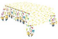 Hooray Minions Tischdecke 1,8 x 1,2m