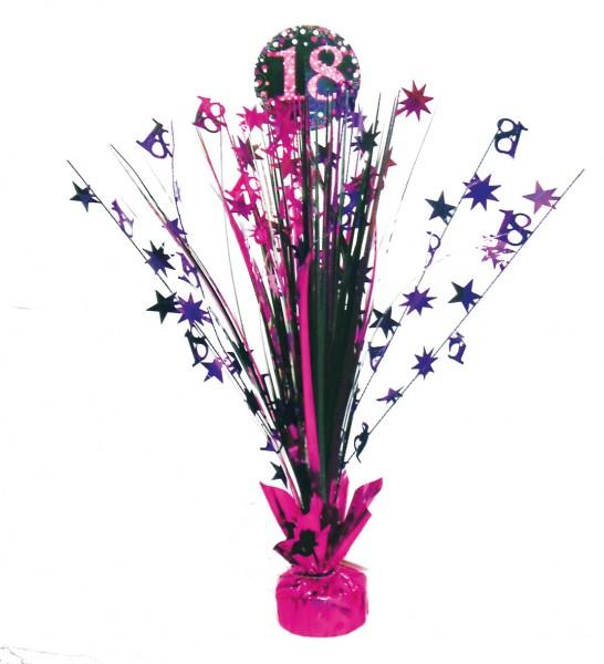18. Geburtstag Pink Sparkling Tischfontäne 46cm