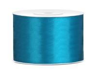 25m Satin Geschenkband türkis 5cm breit