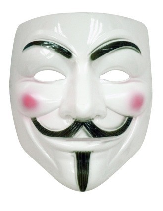 White V mask