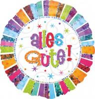 Colourful Birthday Ballon Alles Gute 43cm
