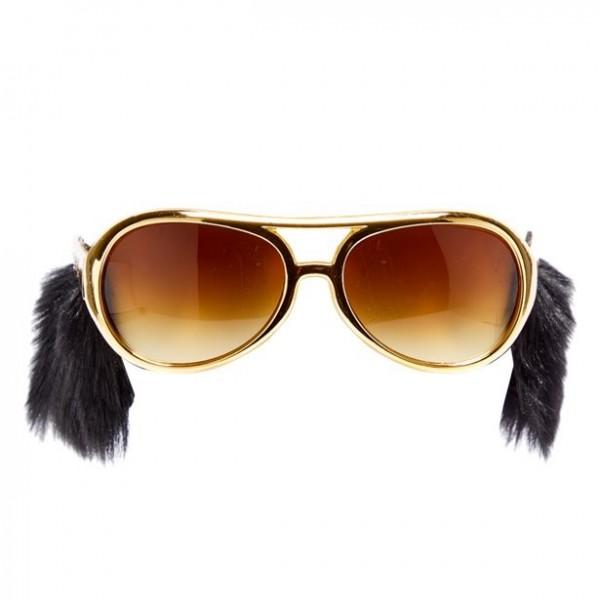 Sonnenbrille mit Koteletten