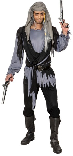 Déguisement pirate zombie Jacko homme