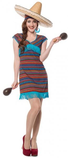 Mexikanische Senorita Cariba Damenkleid