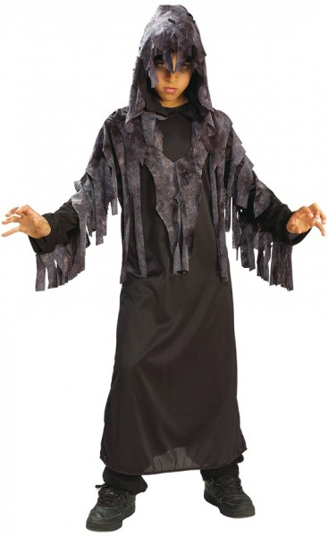 Costume ghost children monk black