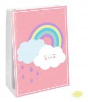 4 Süße Wolkenwelt Geschenktüten