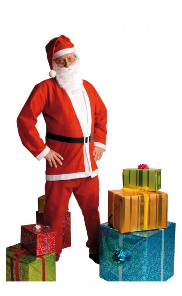 Hoho Santa Claus costume 5 pieces