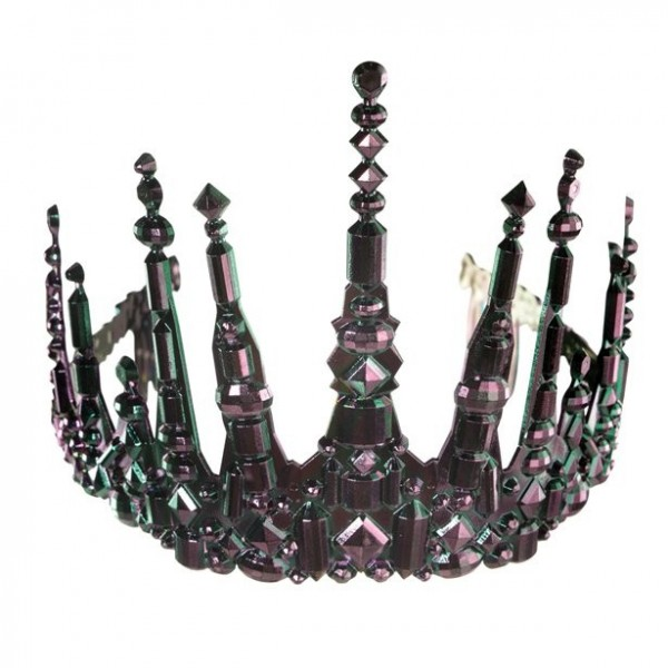 Mermaid tiara black