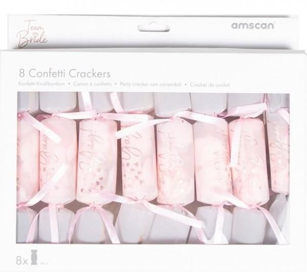 8 craquelins confettis bachelorette brillants