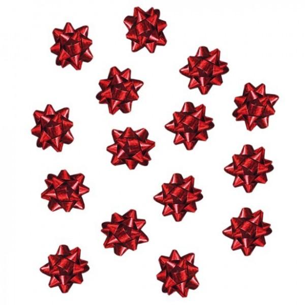 16 rubans cadeaux rouges