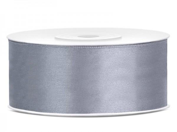 25m gift ribbon in iron gray