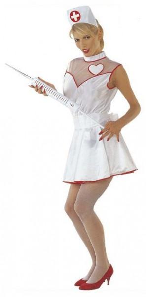 Krankenschwester Jolie Damenkostüm