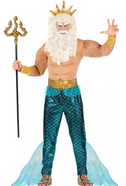 Poseidon Meeresgott Herrenkostüm
