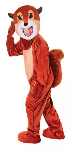 Thick Mouth Braunes Eichhörnchenkostüm