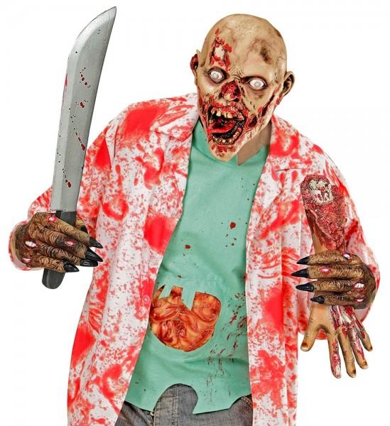 Zombie Krallen Handschuhe aus Latex