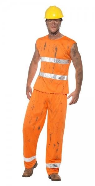 Mijn bouwvakker heren kostuum