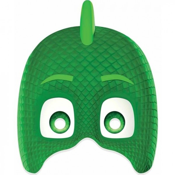 Masque en carton Gecko pour enfants
