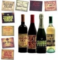 Halloween Flaschen Etiketten